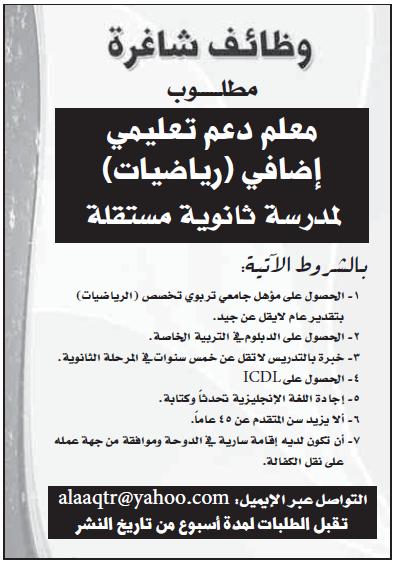 عاجل وظائف خالية من جريدة الشرق الوسيط